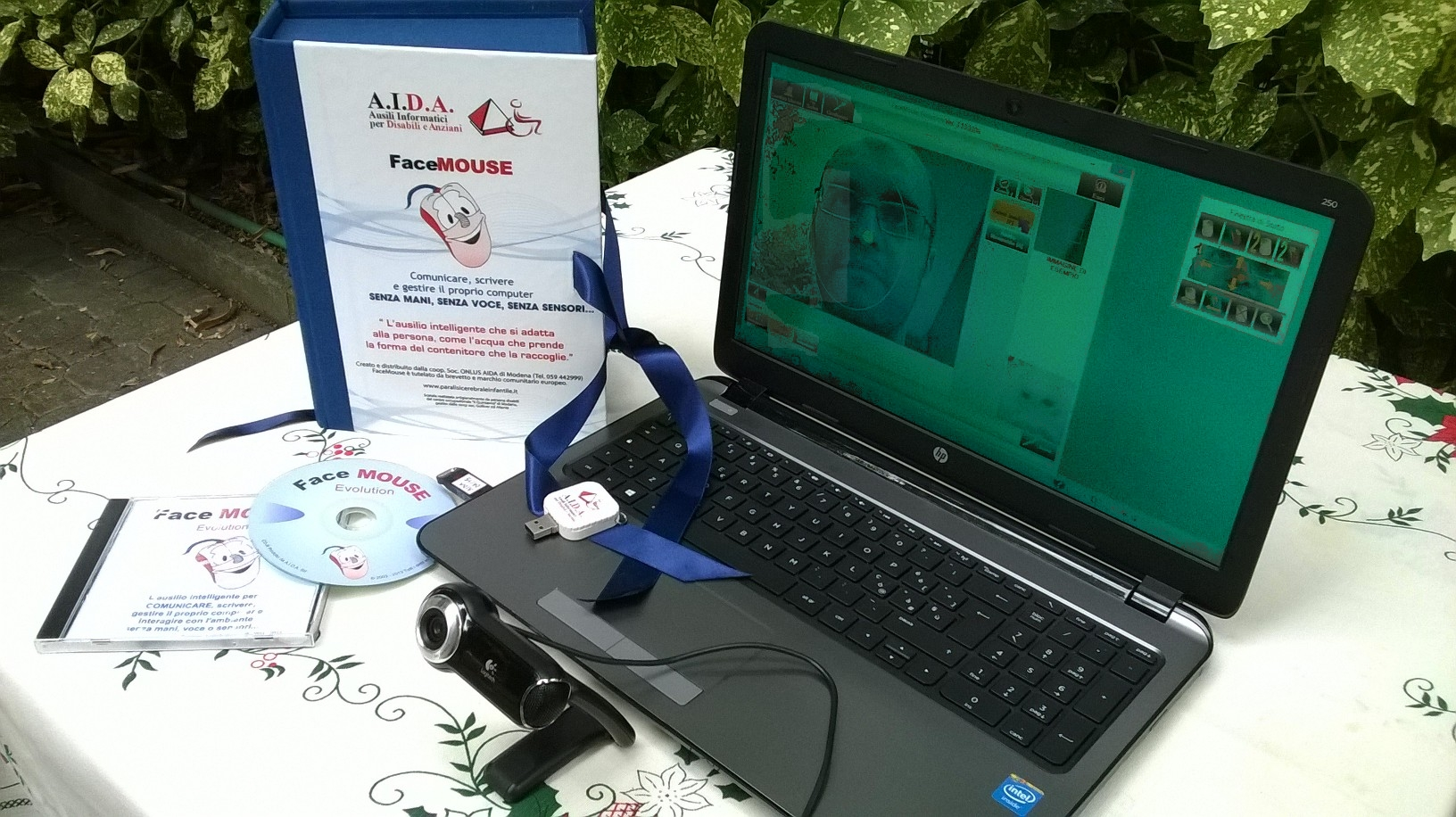 FaceMOUSE Software: mouse assistive device